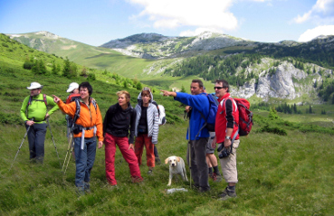 Wandern in den Karpaten / hiking in the Carpathians / ture active in Carpati
